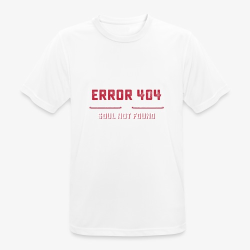 Error 404 - T-shirt respirant Homme