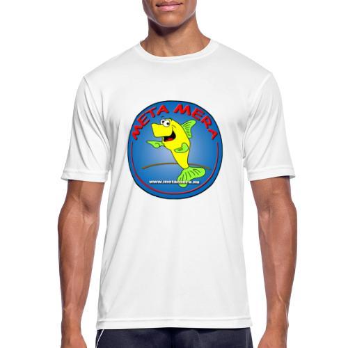 metamera_fish - Andningsaktiv T-shirt herr
