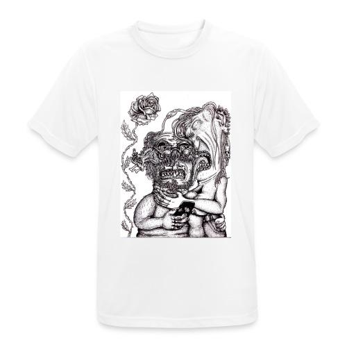 Piercat par - Andningsaktiv T-shirt herr