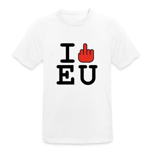 i fck EU European Union Brexit - Men's Breathable T-Shirt