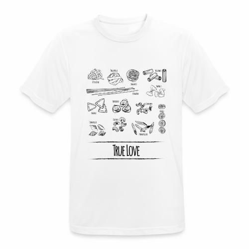 Pasta - My True Love - Männer T-Shirt atmungsaktiv