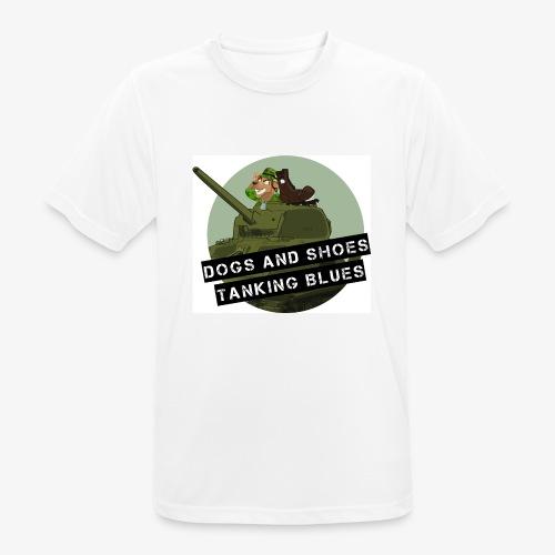 logo dogs nieuw - Mannen T-shirt ademend actief