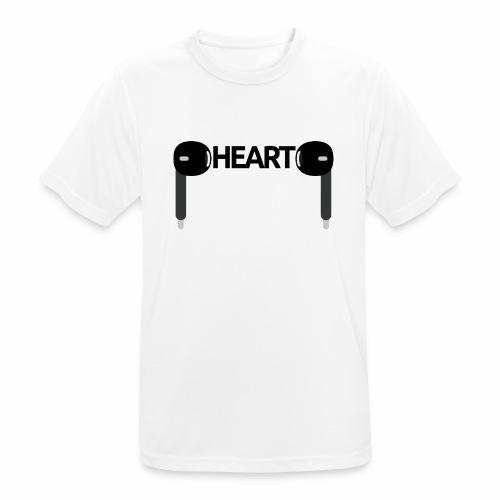 ListenToYourHeart - Koszulka męska oddychająca