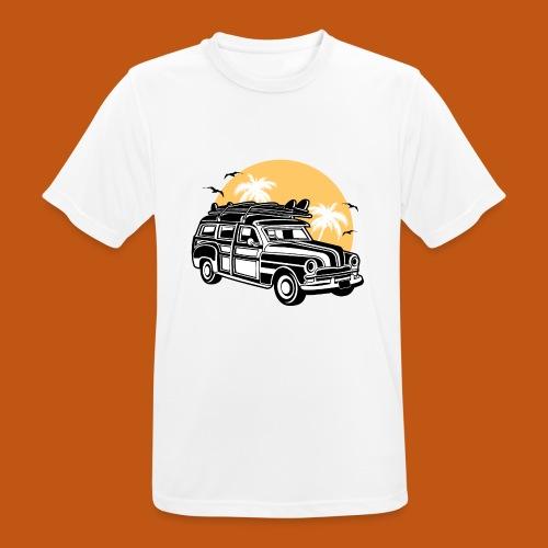 Chevy Cadilac Woodie / Oldtimer Kombi 01_3c - Männer T-Shirt atmungsaktiv