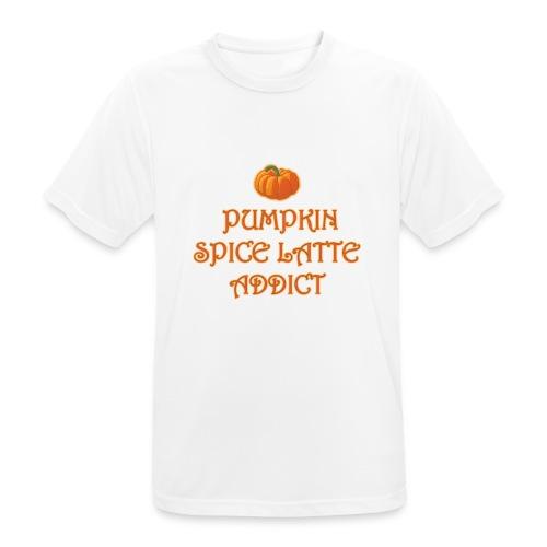 PumpkinSpiceAddict - Maglietta da uomo traspirante