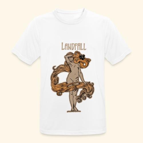 LANDFALL FLORA NEGRA COLOUR - Männer T-Shirt atmungsaktiv