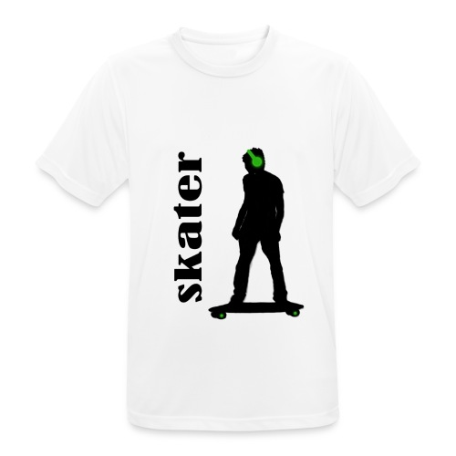 skater green copia - Camiseta hombre transpirable