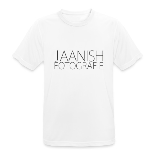 LOGO JAANISH PNG - Mannen T-shirt ademend actief