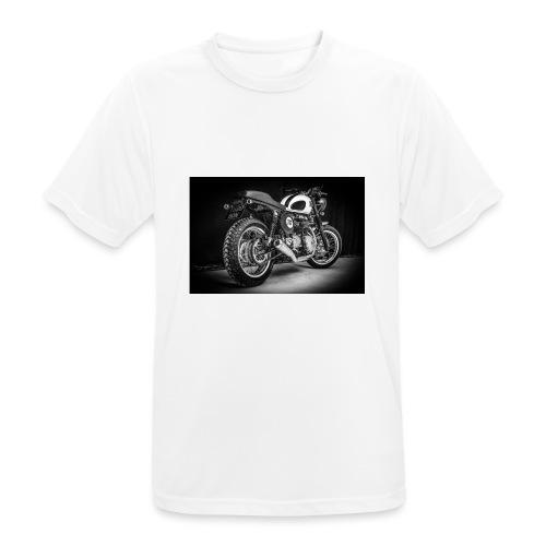 Monia's Thruxton 'Performance Scrambler' - Men's Breathable T-Shirt