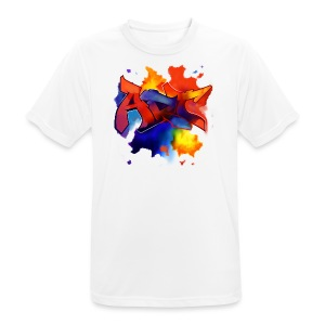 Art graffiti style - Men's Breathable T-Shirt
