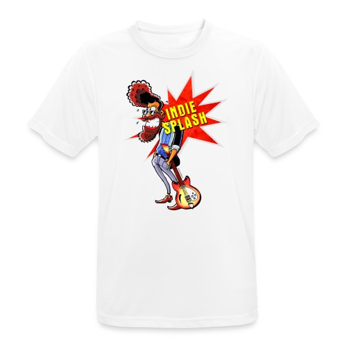 Indie Splash - Männer T-Shirt atmungsaktiv