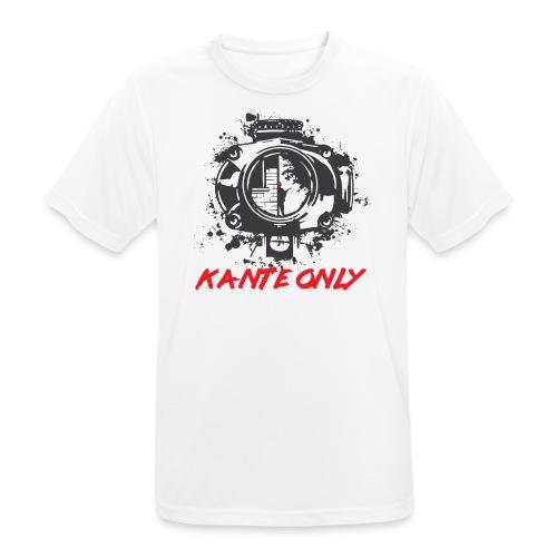 Kante Only (weiß) - Männer T-Shirt atmungsaktiv