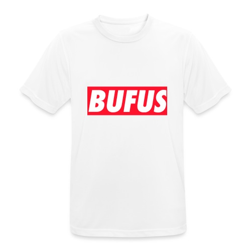 BUFUS - Maglietta da uomo traspirante