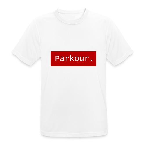 Parkour. - Mannen T-shirt ademend actief