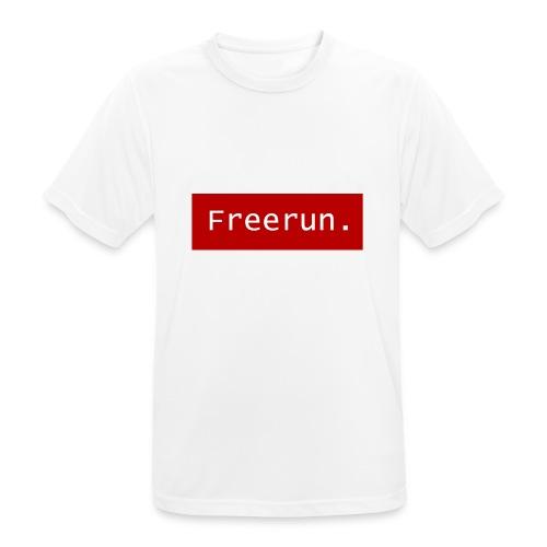 Freerun. - Mannen T-shirt ademend actief