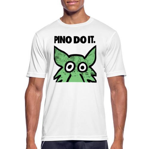 PINO DO IT - Maglietta da uomo traspirante