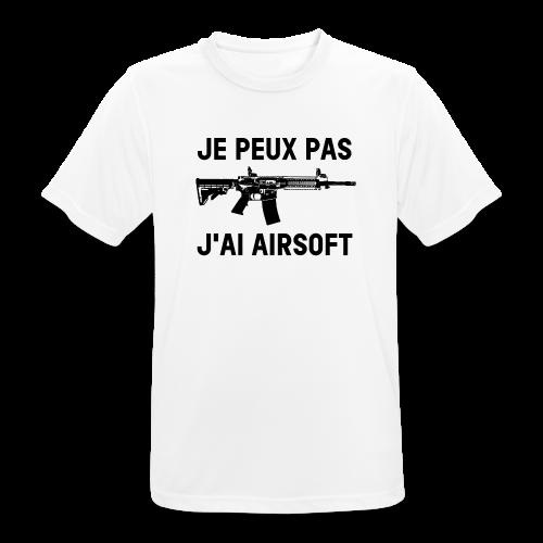 Je peux pas j'ai airsoft - T-shirt respirant Homme