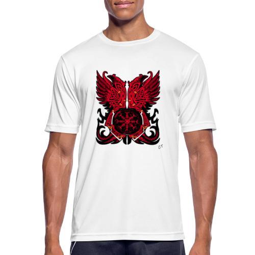 vikings - Maglietta da uomo traspirante
