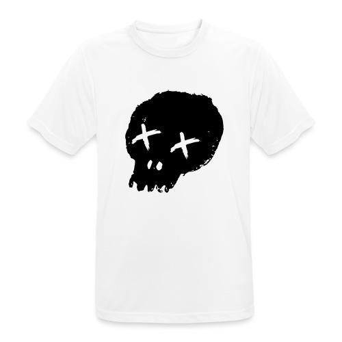 blackskulllogo png - Men's Breathable T-Shirt