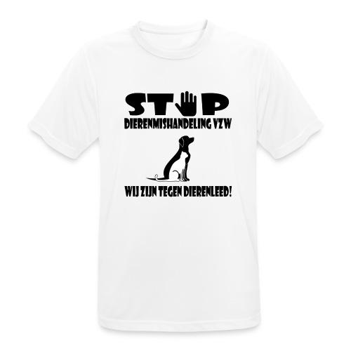 sd vzw - Mannen T-shirt ademend
