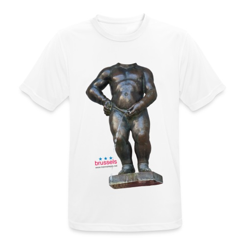 mannekenpis Real Big ♀♂ | 撒尿小童 - T-shirt respirant Homme