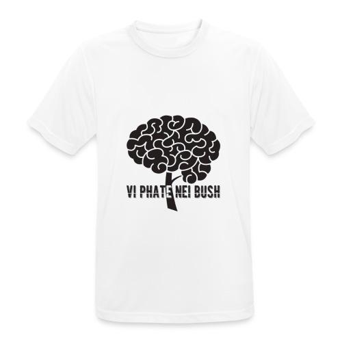 vi phate nei bush - logo - Maglietta da uomo traspirante