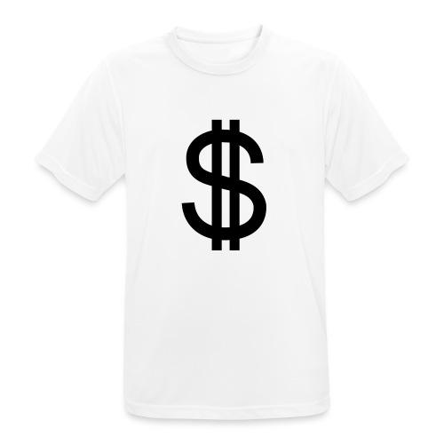 Dollar - Camiseta hombre transpirable