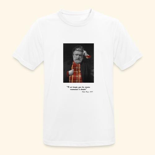 Victor Hugo Hipster - T-shirt respirant Homme