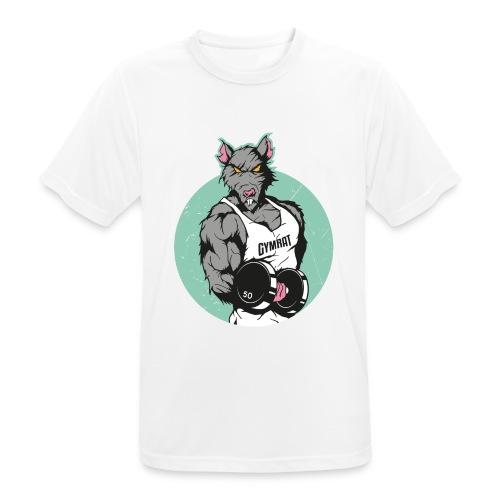 GYM RAT old Ed. - Männer T-Shirt atmungsaktiv