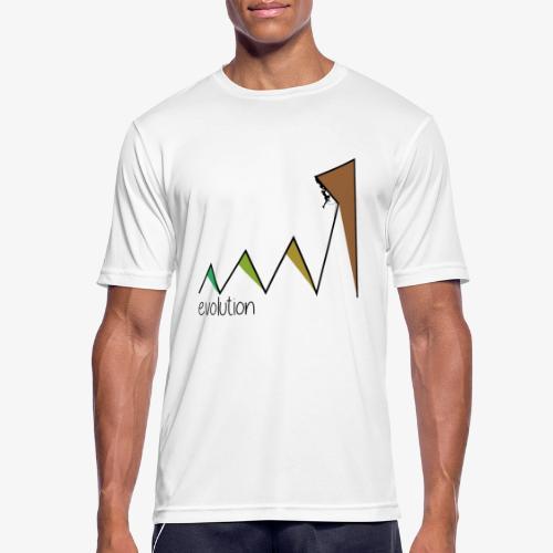 evolution - Men's Breathable T-Shirt