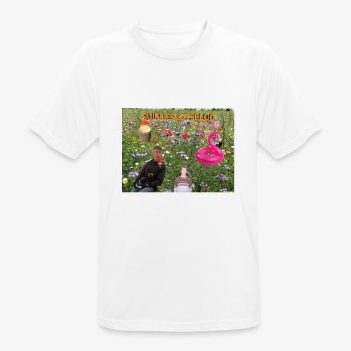 Sulleslotsblog - Herre T-shirt svedtransporterende