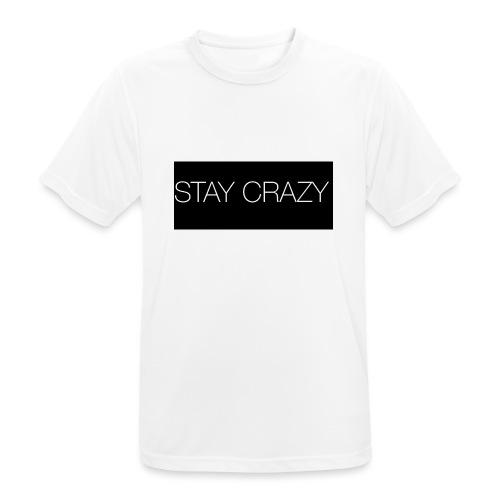 STAY CRAZY - Andningsaktiv T-shirt herr
