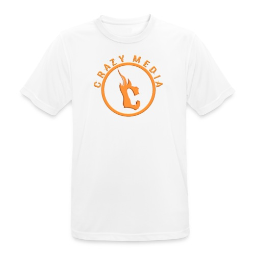 Crazy Media - Men's Breathable T-Shirt