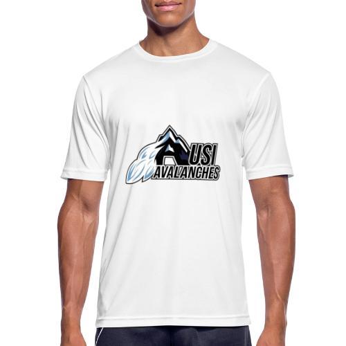 USI Avalanches white - Männer T-Shirt atmungsaktiv