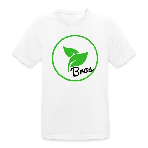 Twin Bros (Large Logo) - Men's Breathable T-Shirt