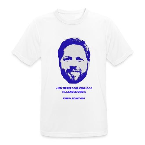 Horntvedt - Pustende T-skjorte for menn