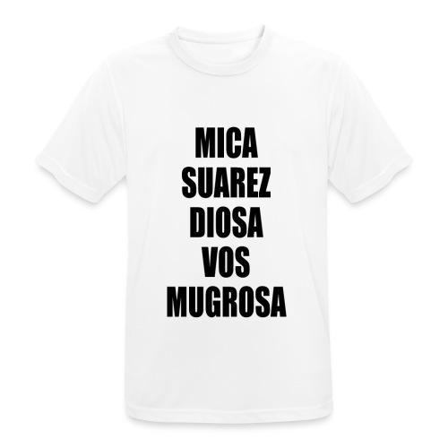 Polo Mica Suarez Diosa Vos Mugrosa - Camiseta hombre transpirable
