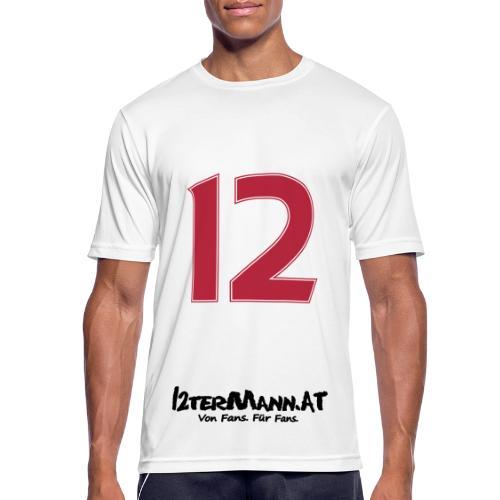 12termann mitfans - Männer T-Shirt atmungsaktiv