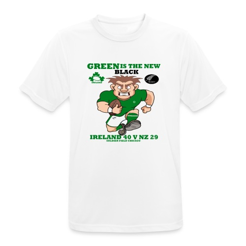 GREEN IS THE NEW BLACK !! - Men's Breathable T-Shirt