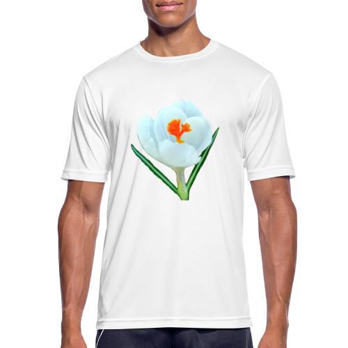 TIAN GREEN - Krokuss 2020 - Männer T-Shirt atmungsaktiv
