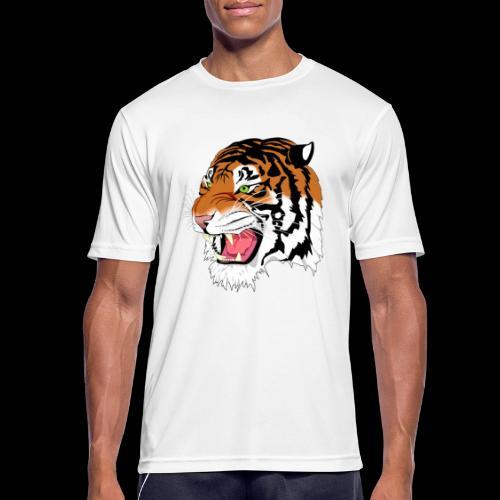 Sumatra Tiger - Männer T-Shirt atmungsaktiv