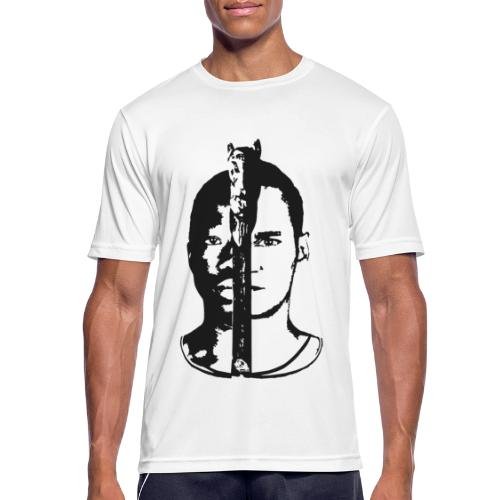 Frères - Black & white  - T-shirt respirant Homme