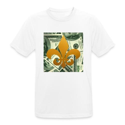 DonBehavior's fleur de lis - Men's Breathable T-Shirt