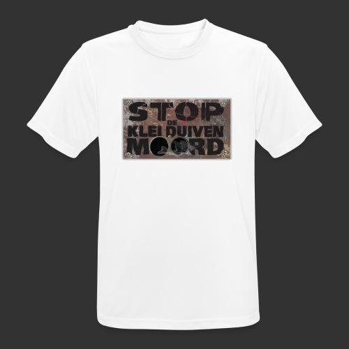 kleiduivenmoord - mannen T-shirt ademend