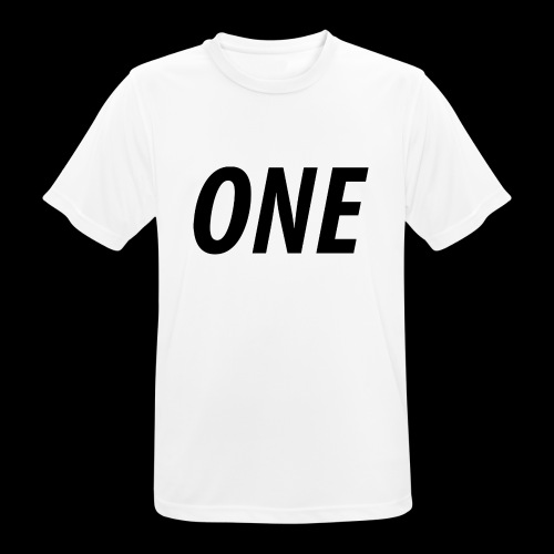 WEAREONE x LETTERS - Mannen T-shirt ademend actief