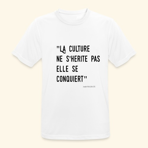 Kulture Française - T-shirt respirant Homme