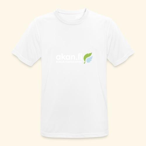 Akan White - miesten tekninen t-paita