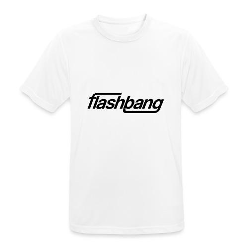 FlashBang Enkel - 100kr Donation - Andningsaktiv T-shirt herr