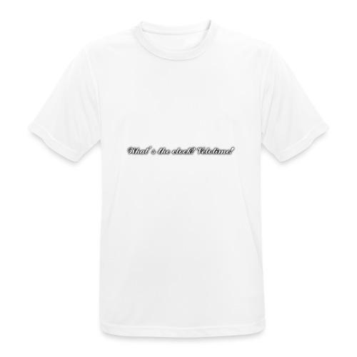 Velotime motto - Andningsaktiv T-shirt herr