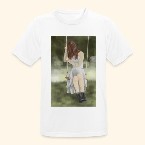 Sad Girl on Swing - Men's Breathable T-Shirt